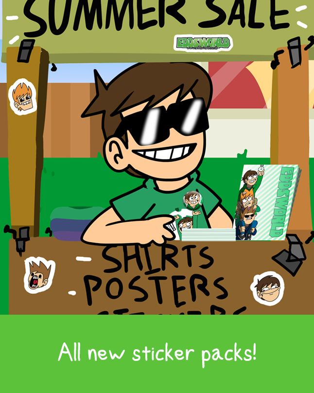 Eddsworld Stickers